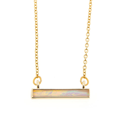 Bella Necklace in Gold