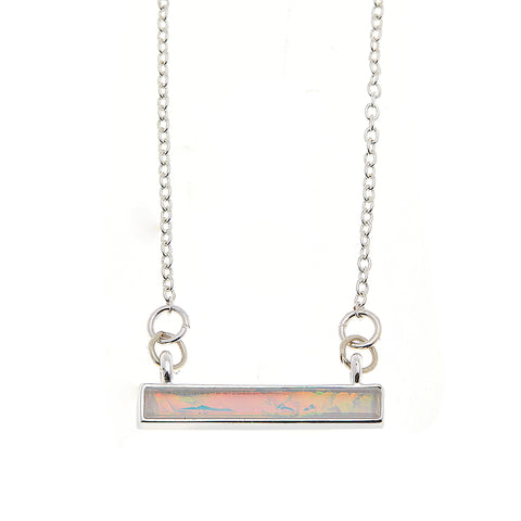 Bella Necklace in Silver