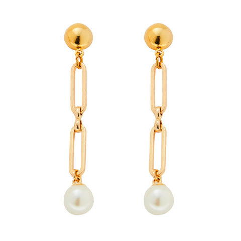 Casper Earrings in Gold