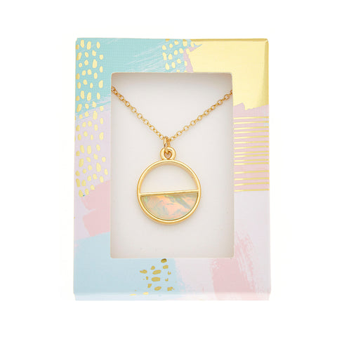 Chloe Necklace in Gold