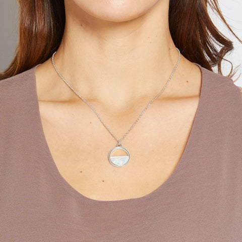 Chloe Necklace in Silver