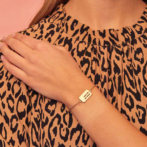 Be The Change Bracelet in Gold