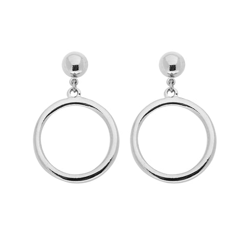 Cybil Earrings in Silver