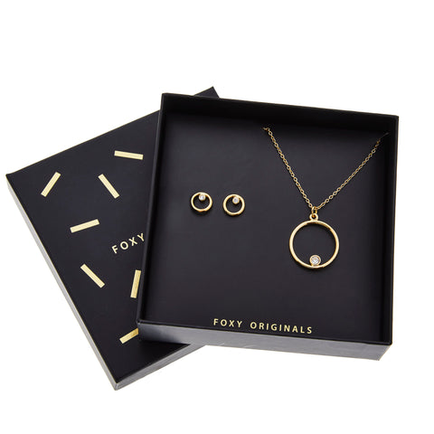 Delilah Box Set in Gold