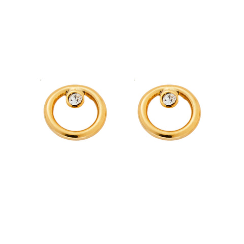 Delilah Earrings in Gold