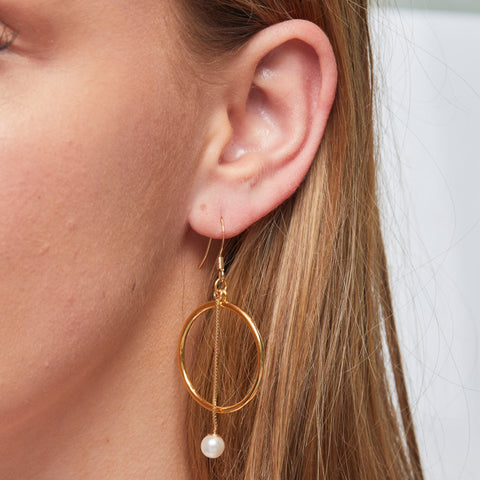 Emilia Earrings in Gold