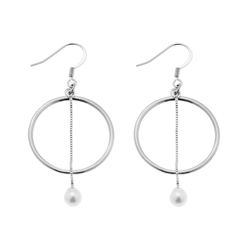 Emilia Earrings in Silver