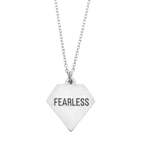 Fearless Necklace in Silver