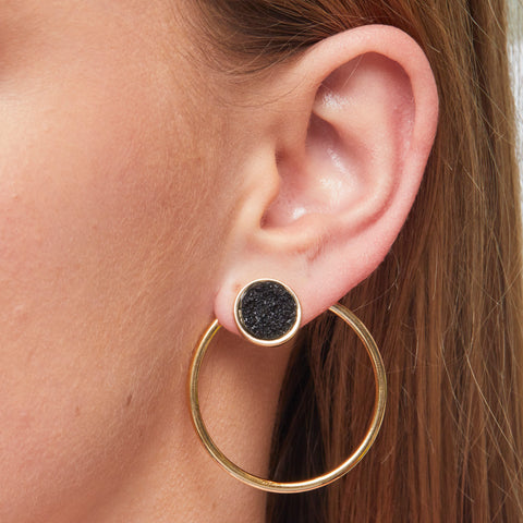 Floriana Earrings in Gold