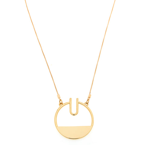 Giselle Necklace in Gold
