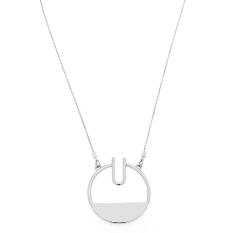 Giselle Necklace in Silver