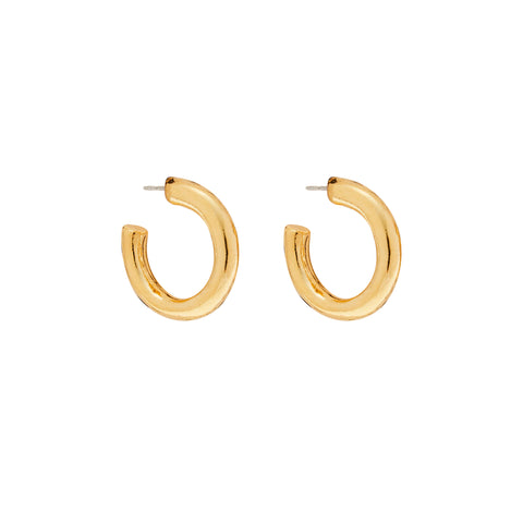 Grand Hoops in Gold