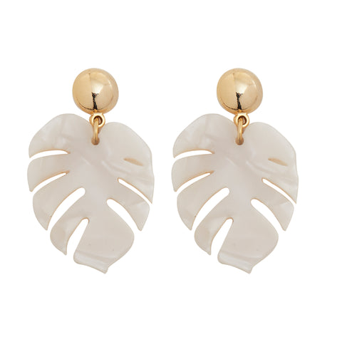 Aloha Earrings in Gold