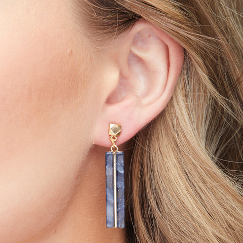 Ella Earrings in Gold