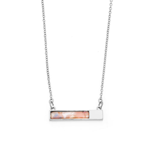 Lush Necklace in Silver