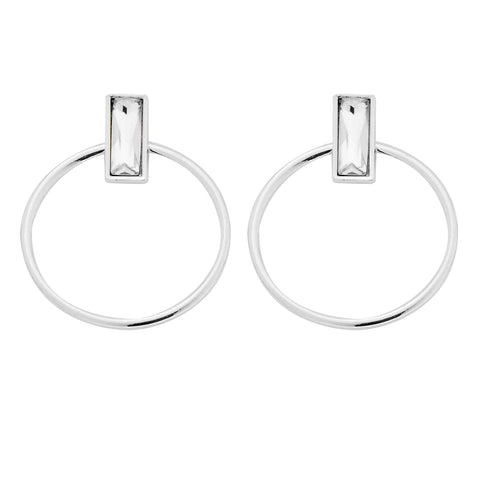 Indra Earrings in Silver