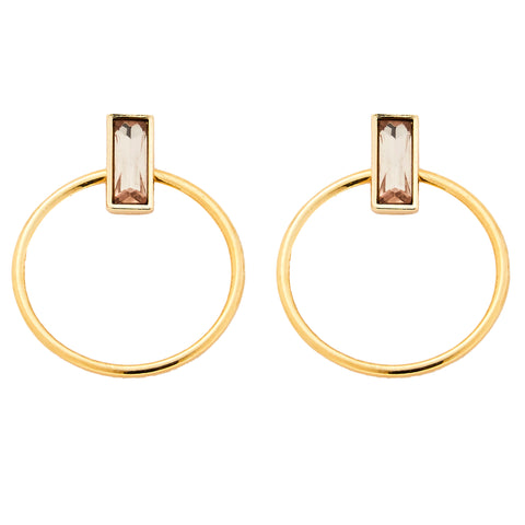 Indra Earrings in Gold
