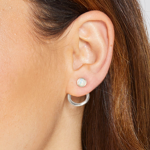 Izzy Ear Jacket in Silver