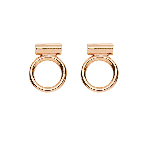 Jaden Earrings in Rose Gold