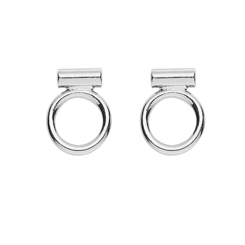Jaden Earrings in Silver
