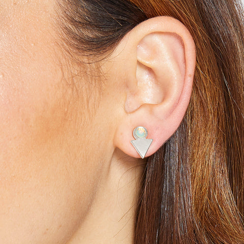Kenzie Earrings in Silver