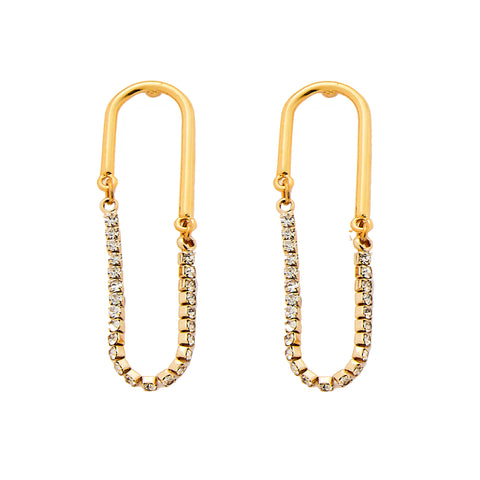 Lola Earrings in Gold