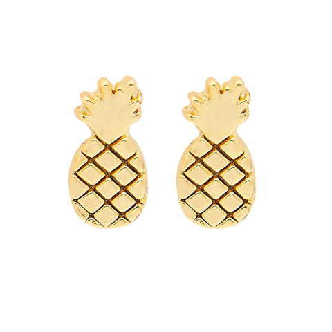 Pina Colada Earrings in Gold