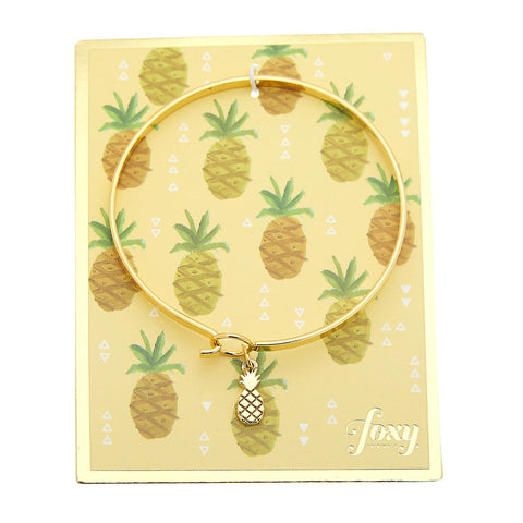 Pina Colada Bangle in Gold