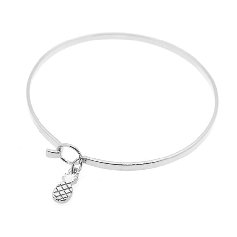 Pina Colada Bangle in Silver