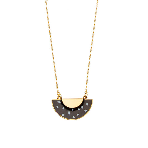 Polka Necklace in Gold