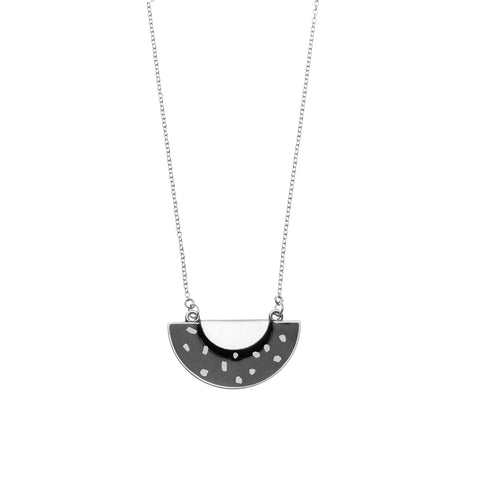 Polka Necklace in Silver