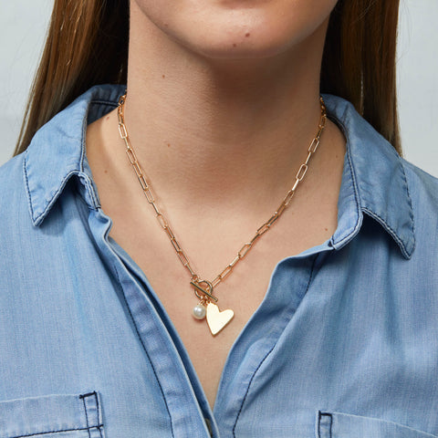 Rosie Necklace in Gold