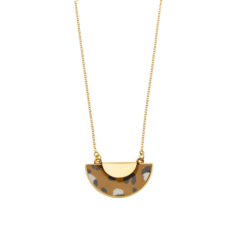 Sahara Necklace in Gold