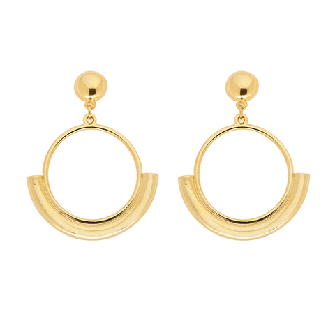 Solo Earrings in Gold
