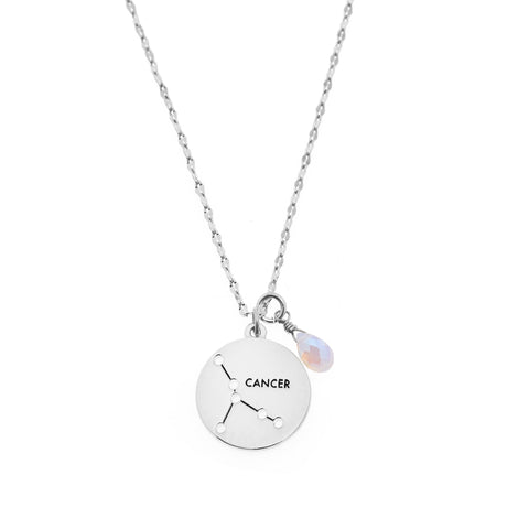 Cancer Necklace in Silver