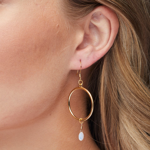 Stargazer Earrings in Gold