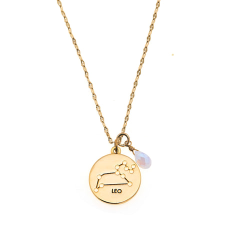 Leo Necklace in Gold