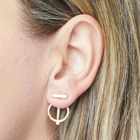 Lilo Ear Jacket in Silver