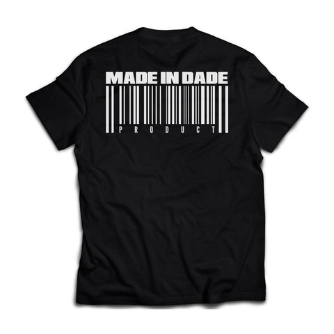 the 3o5 : MADE IN DADE [tee] in BLACK