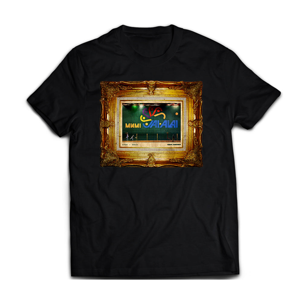 305 - Home Teams: Miami Jai-Alai [tee] in BLACK