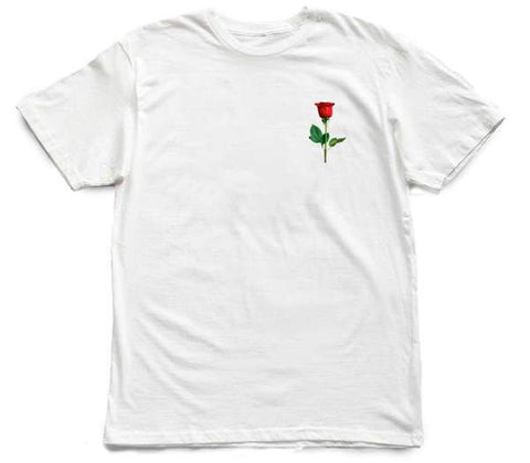 Memo Apparel : Kiss From A Rose [tee] in WHITE