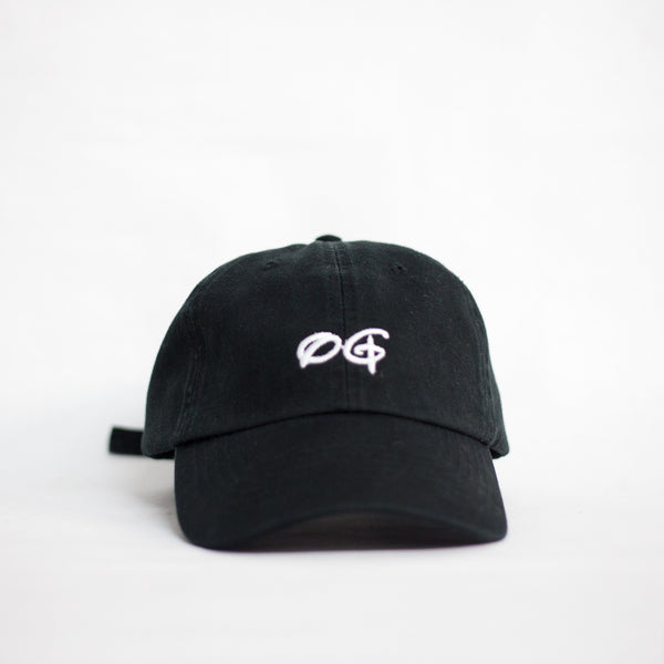 OG Black Unstructured Hat