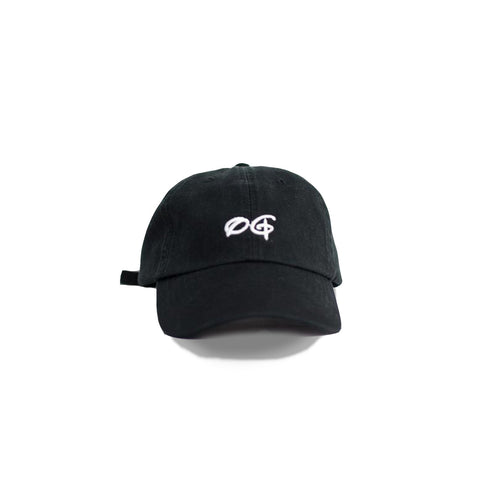 Memo Hats : OG [dad hat] in BLACK