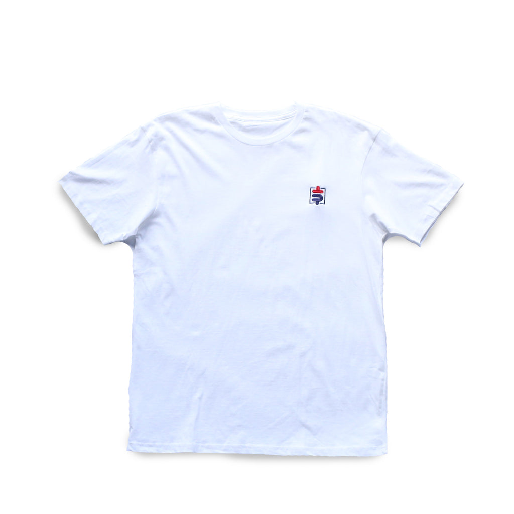 Skrilla [$] [tee] in WHITE