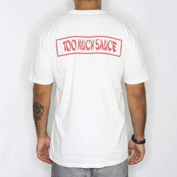 Memo Apparel : Too Much Sauce [tee] in WHITE