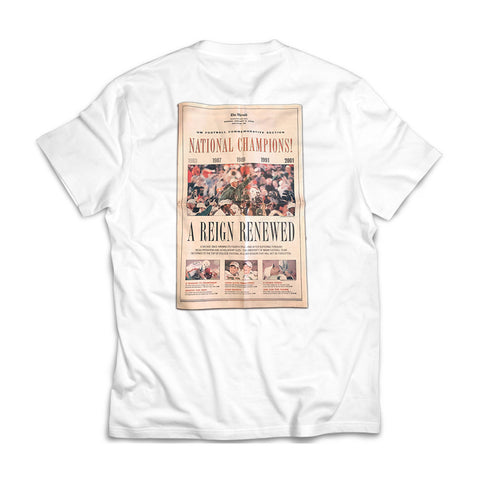 305 - Championship Canes [tee] in WHITE