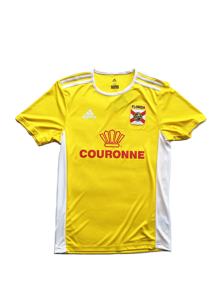 soccer Miami FL Couronne [jersey] in YELLOW
