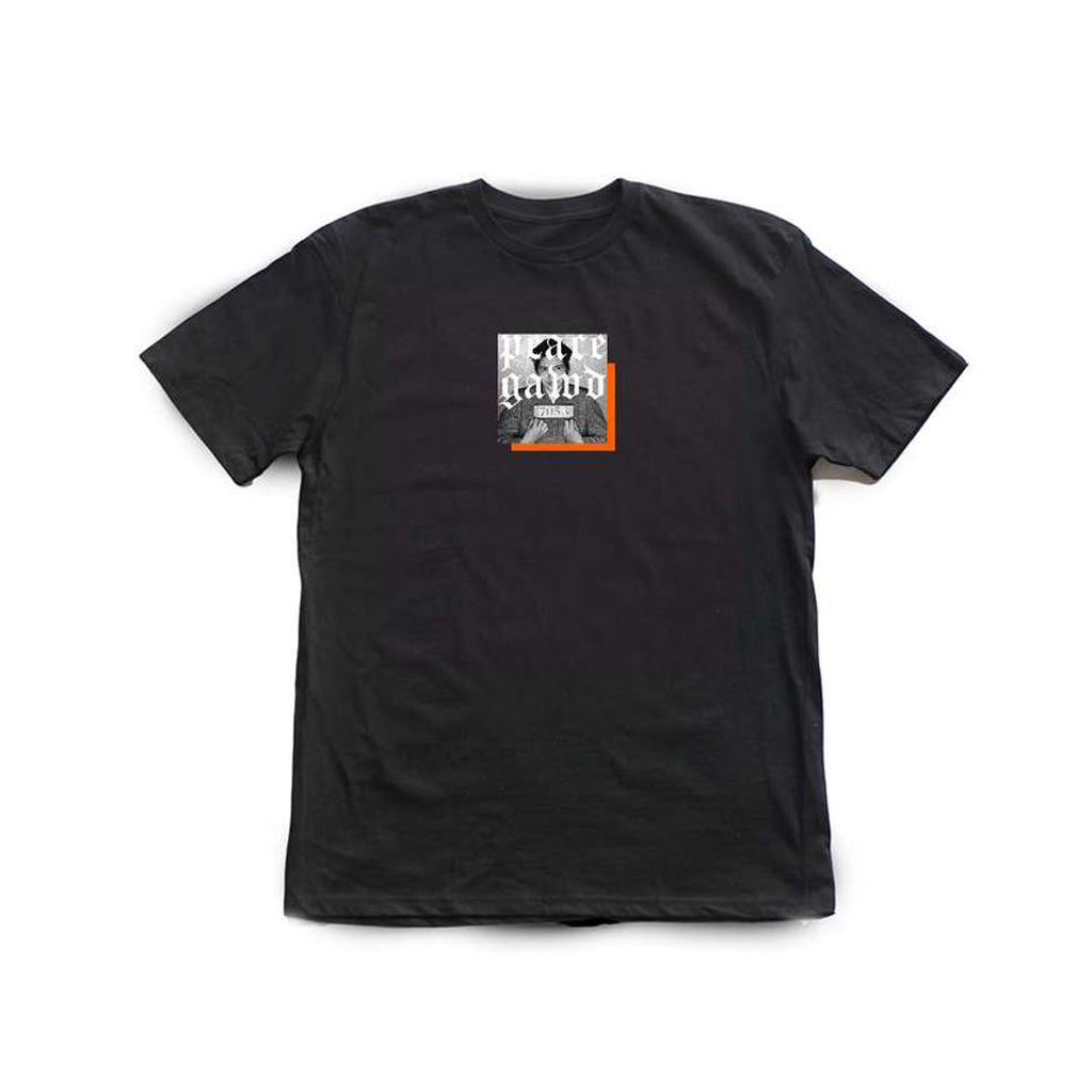 peace gawd Parks [tee] in BLACK