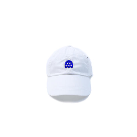 Scrred [dad hat] in WHITE