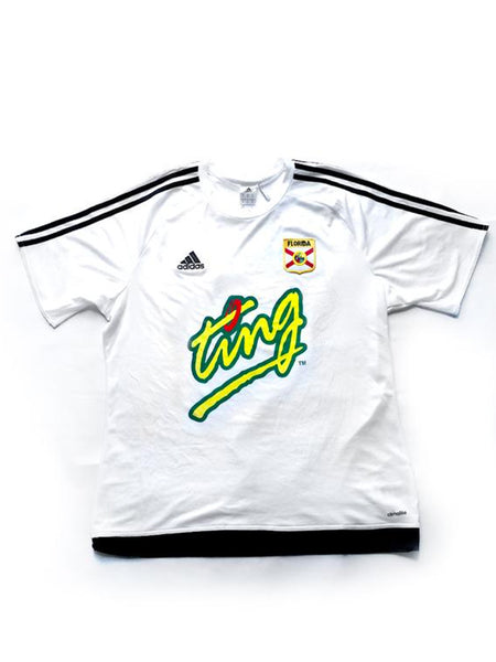 soccer FLA League TING [jersey] in WHITE